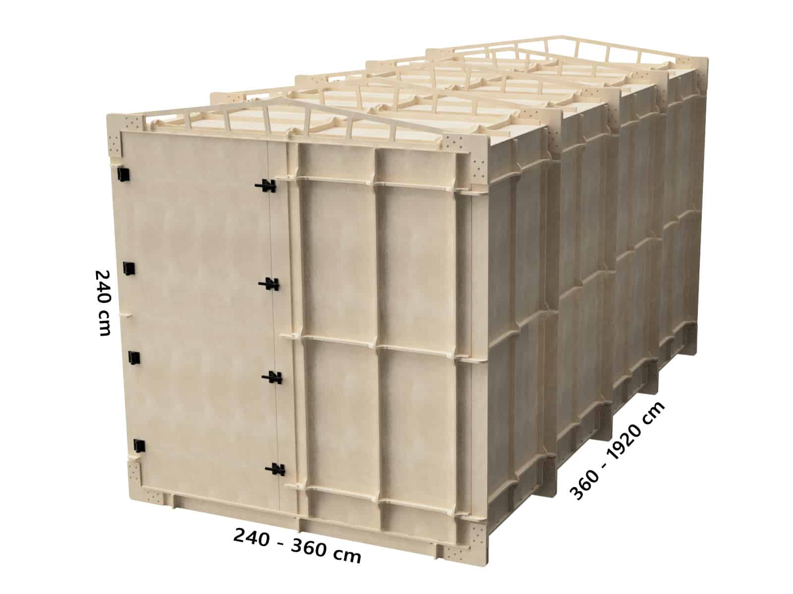 Modular mmWave antenna test range for automotive radar and 5G